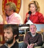 António Carlos dos Santos, Maria de Belém, Jacinto Lucas Pires e Daniel Sampaio